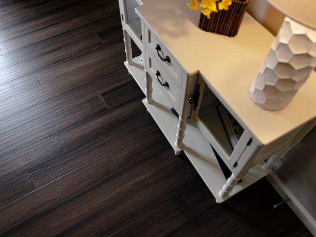 dark grey brown engineered bamboo flooring