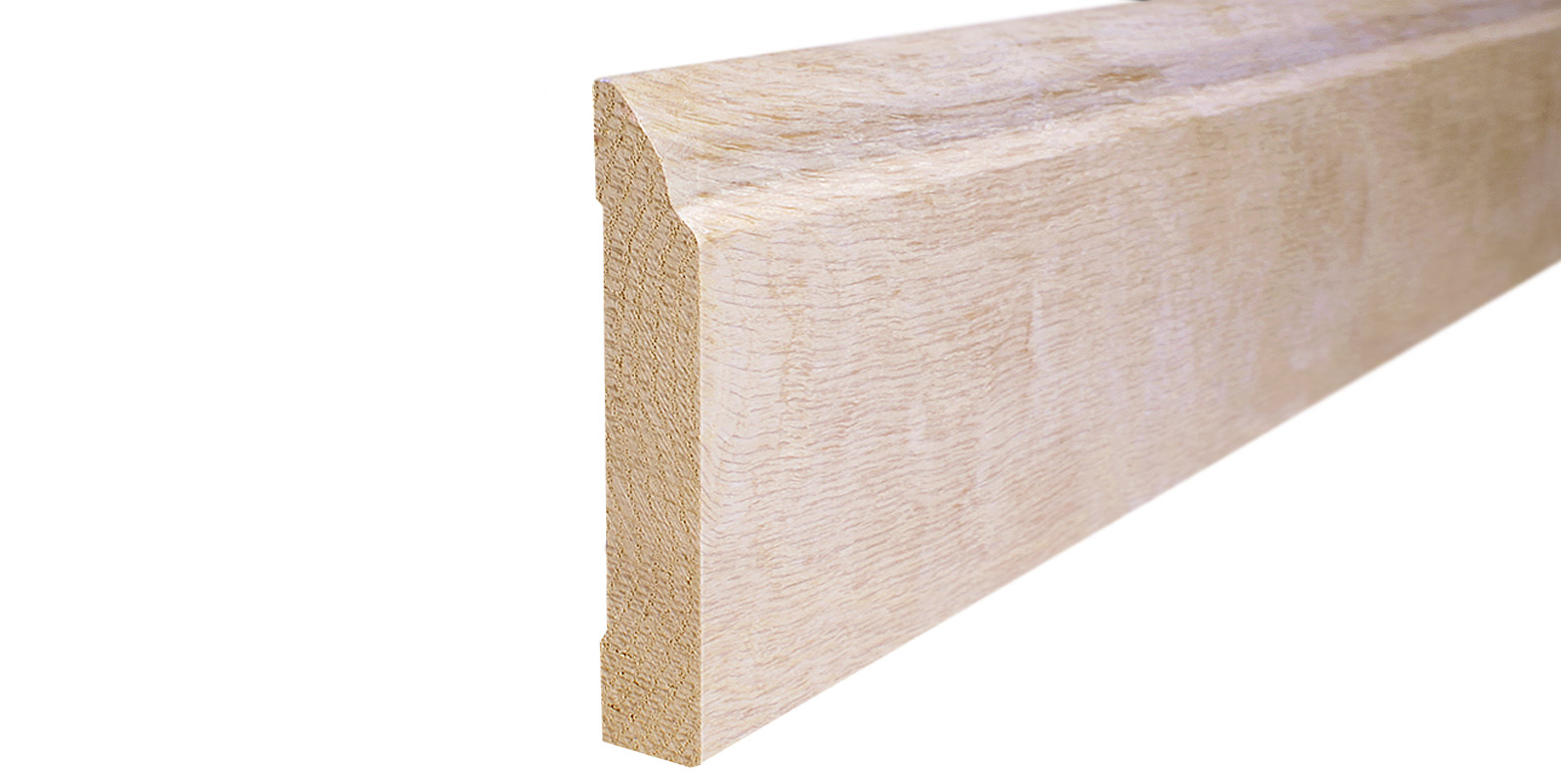 hardwood and bamboo baseboard trim specifications