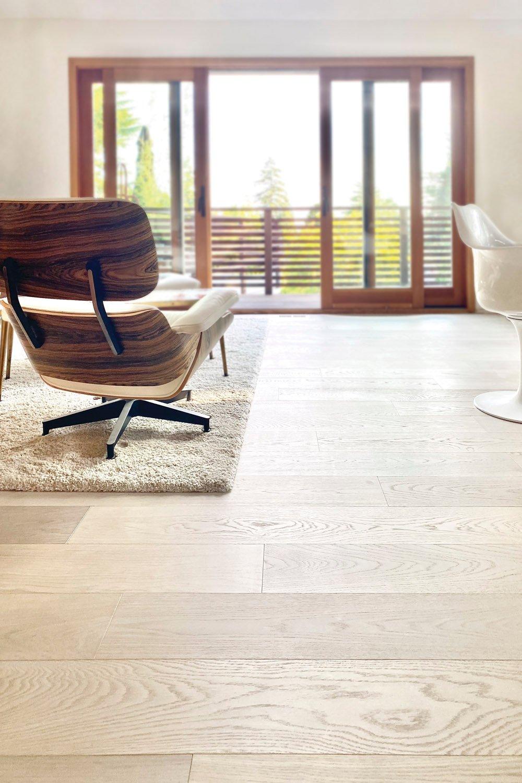 light natural environmentally friendly hardwood flooring